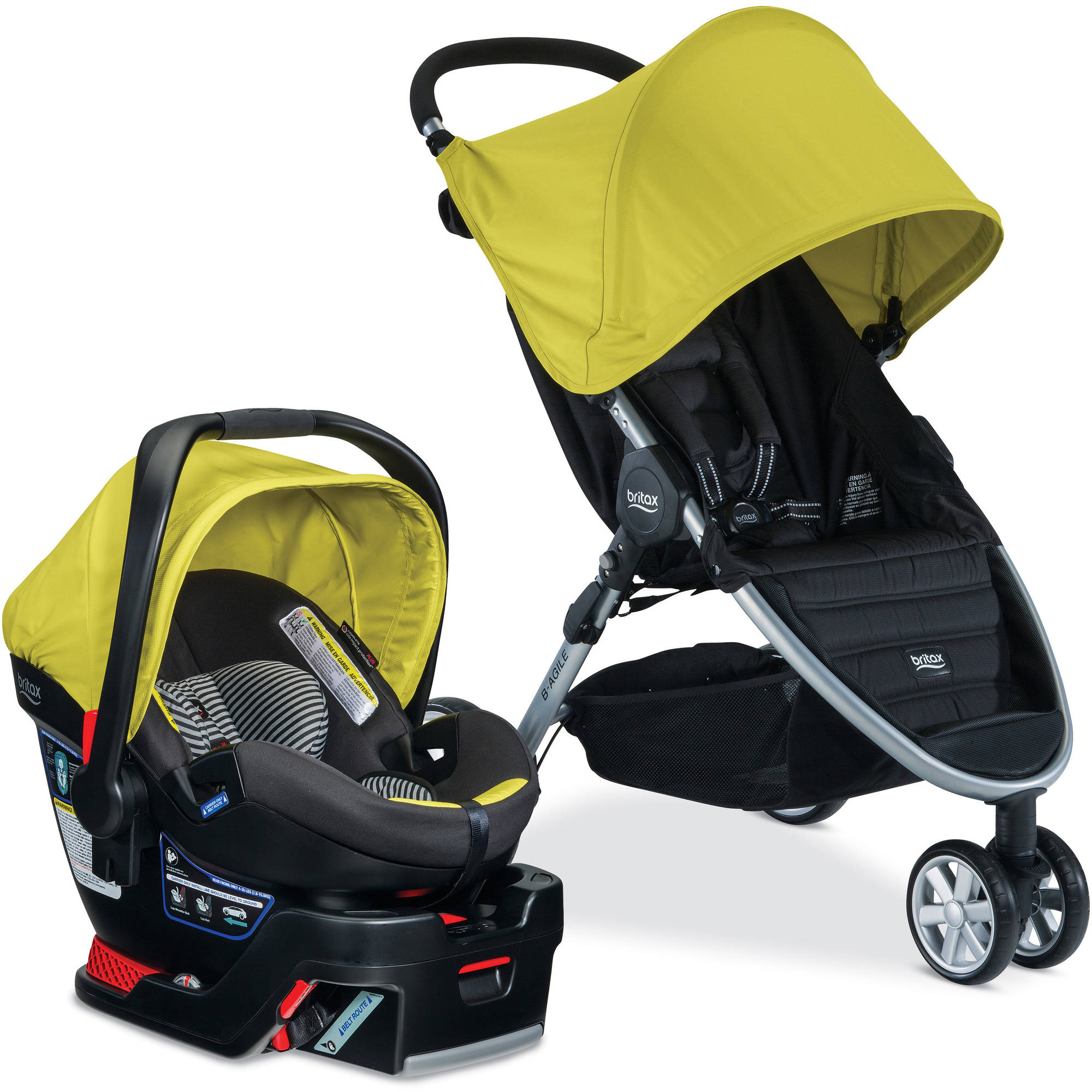 B-AGILE 3/B-SAFE 35 Elite Travel System, Choose Your Color