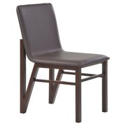 New Spec Afton Dining Chair - Brown / Wenge - Set of 2