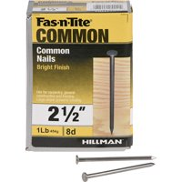 """8D Bright Common Nails (2-1/2"""") - 1 lb"""