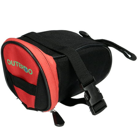 OUTERDO New Ros wheel Outdoor Cycling Bike Bicycle Rear Seat Saddle Bag Under Seat Packs Tail Pouch