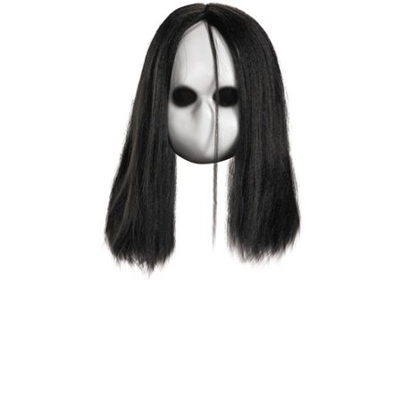 Blank Black Eyes Doll Mask Adult Halloween - Payday 2 Halloween Masks