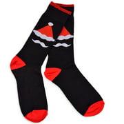 TeeHee Christmas Socks - Nutcracker Crew Socks for Men
