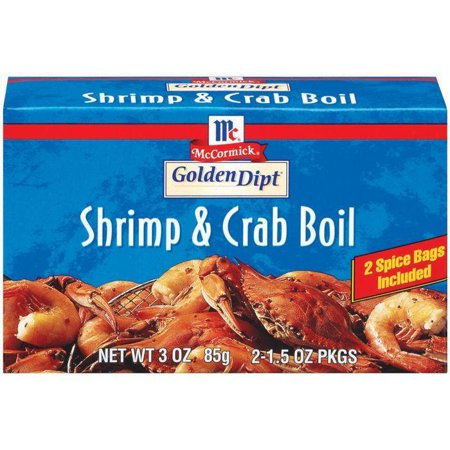 Golden Dipt 2 Ct Shrimp & Crab Boil 3 Oz (Pack of 12)