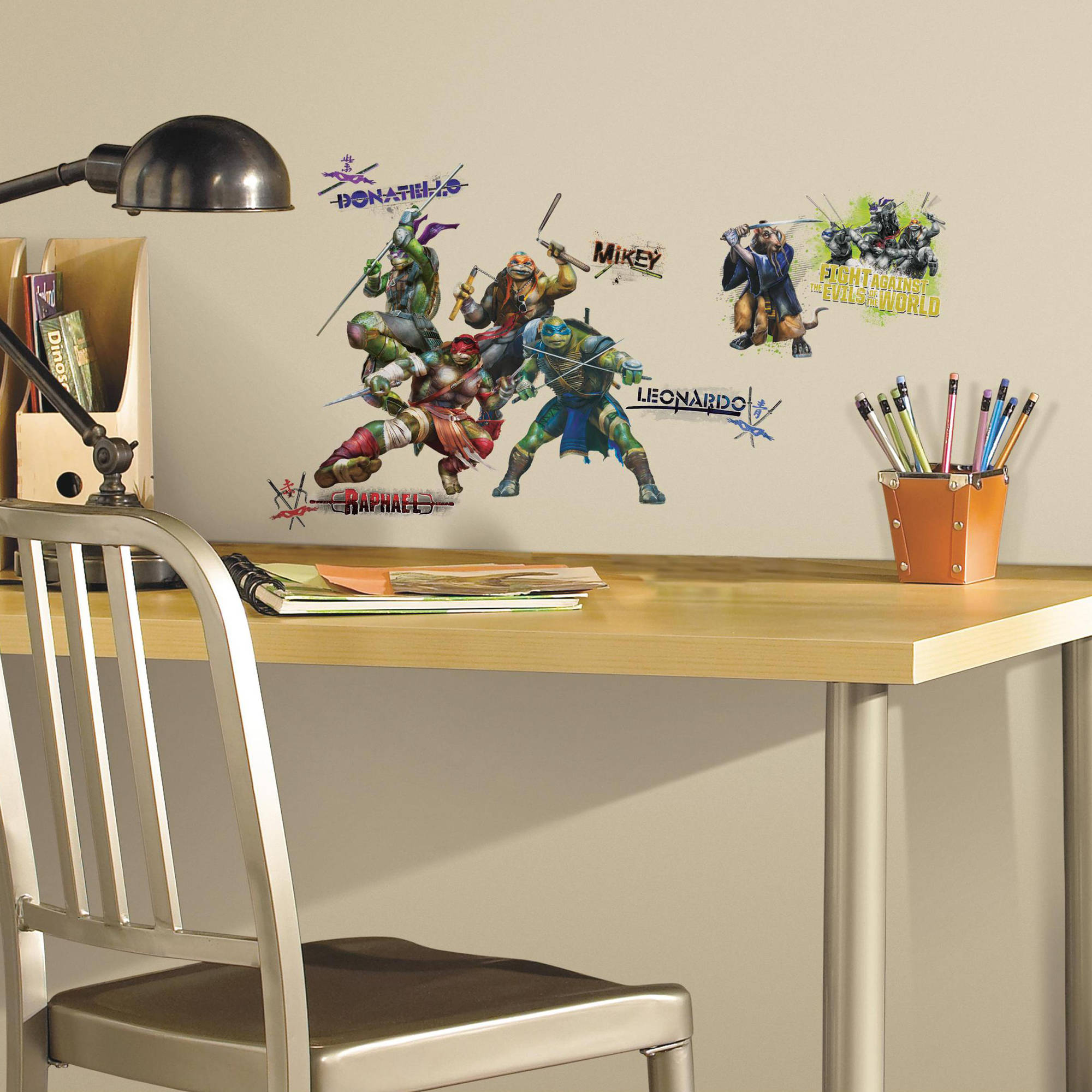 Teenage Mutant Ninja Turtles Movie Peel and Stick Wall Decals