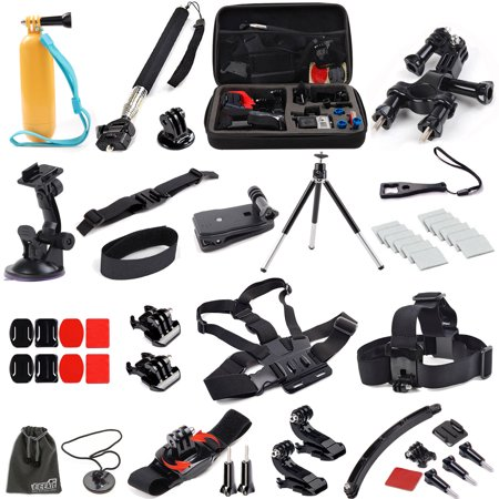 eeekit 16in1 accessories bundle kit for gopro hero 5 4 3 3. Black Bedroom Furniture Sets. Home Design Ideas
