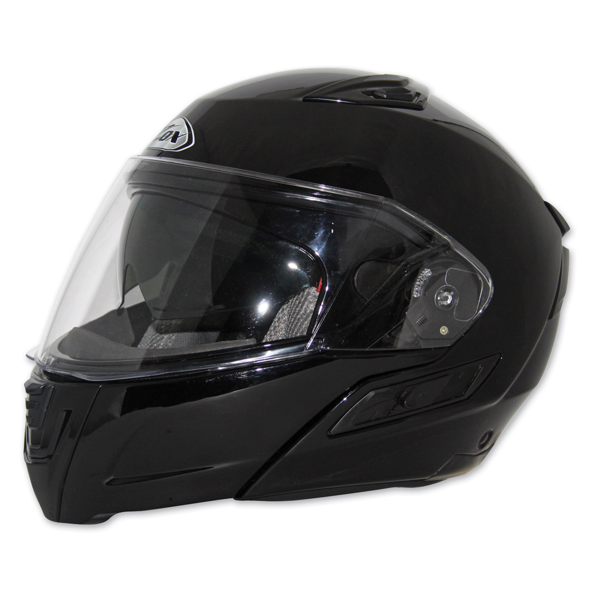 Zox Unisex Adult  Condor SVS Gloss Black Modular Helmet Z88-30844