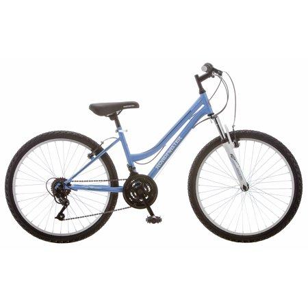 Roadmaster Granite Peak Girls Mountain Bike, 24u0022 wheels, Light Blue