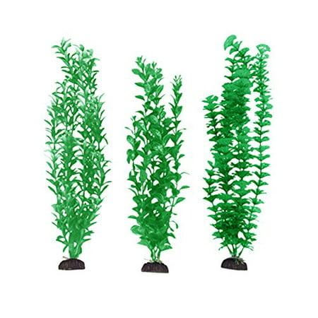 Penn Plax 16-Inch Aquarium Plants, 3-Count Pack ()