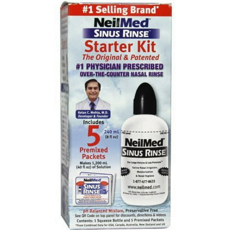 Neilmed Sinus Rinse Starter Kit 1 Each  Pack Of 3