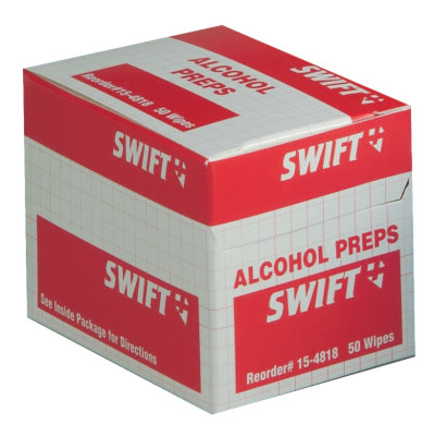 ALCOHOL WIPES 50/BX