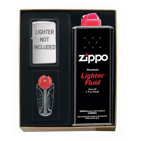 Zippo Lighter Fluid (Slim Lighter Accessories Gift Kit )