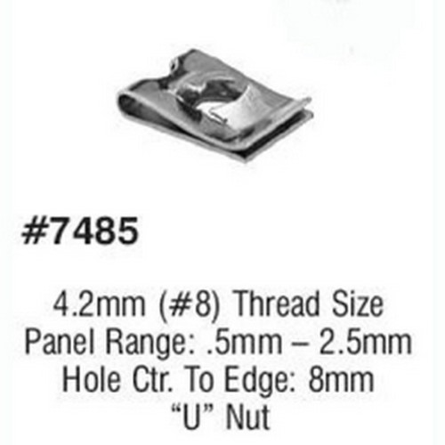 LSP Products 7485R U-Nut M4.2-1.41 Screw Size