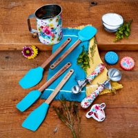 The Pioneer Woman, Spring 10-Piece Baking Prep Set, Teal
