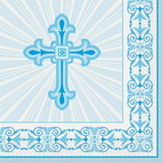 Blue Radiant Cross Party Supplies Walmart