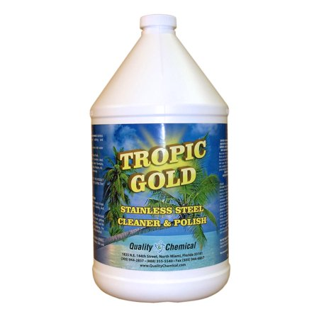 Tropic Gold Stainless Steel Polish - 1 gallon (128