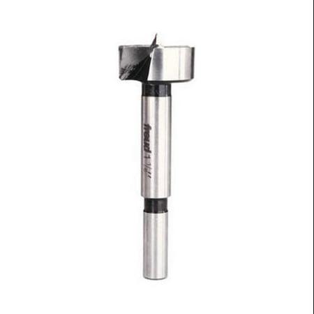 Forstner Bit, High-Speed Steel, 1-1/8-In.