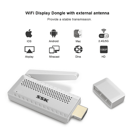Wireless Wifi Display Dongle Miracast Dongle 24g5g Mini Display