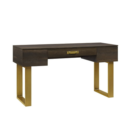 Awesome Better Homes Gardens Lana Modern 3 Drawer Writing Desk Toasted Brown Ash Finish Theyellowbook Wood Chair Design Ideas Theyellowbookinfo