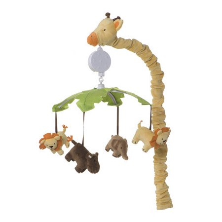 Carter S Sunny Safari Musical Mobile Walmart Com
