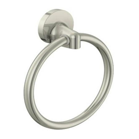 Towel Ring Brush (Design House 558155 Alta Bay Towel Ring, Brushed Nickel )