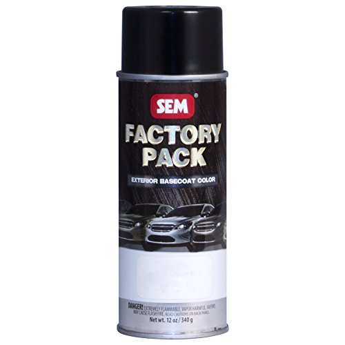Sem Products SEM-19103 Factory Pack - Ford Black Ua, 16oz Aerosol Can