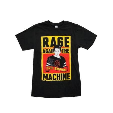 Rage Against The Machine Evil Empire Mens Black Graphic T-Shirt (Rage Against The Machine Evil Empire Tracklist)