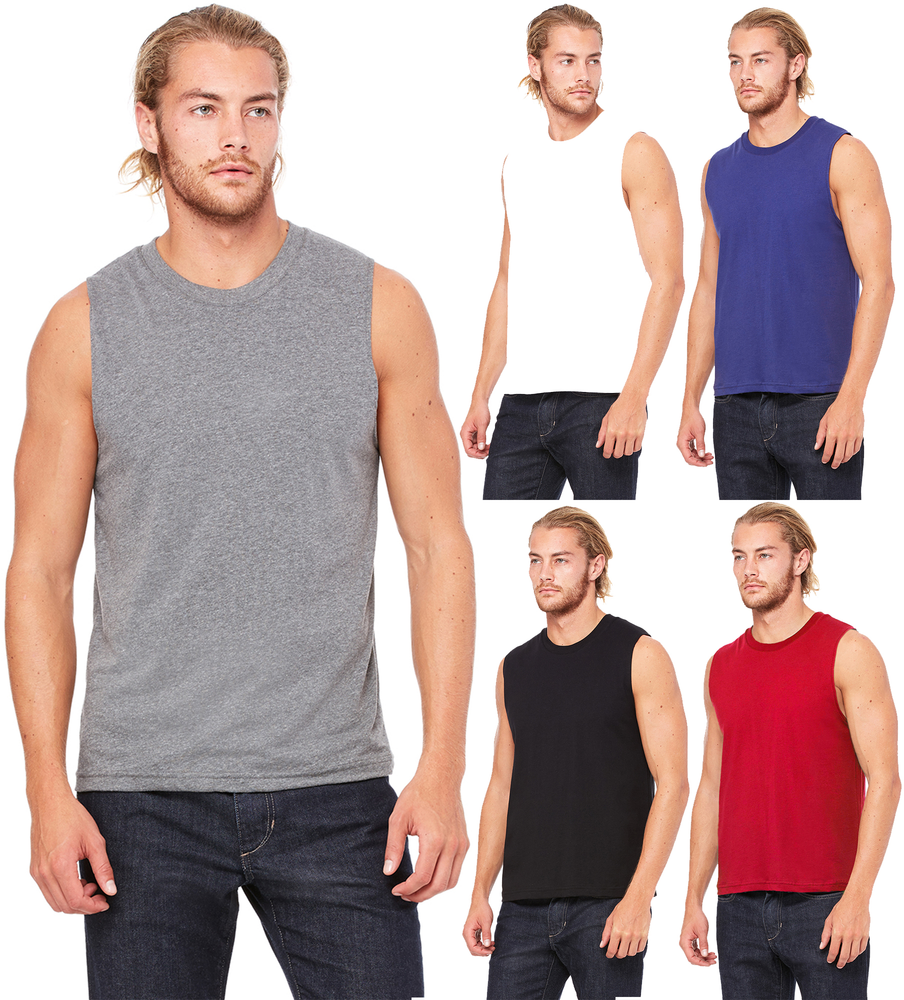 72a02c31b3843 Ma Croix - Men s Athletic Sleeveless Tank Top T Shirts - Walmart.com