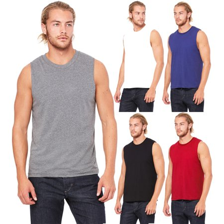 Men's Athletic Sleeveless Tank Top T Shirts