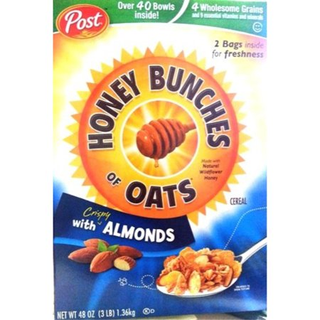 Post Honey Bunches of Oats, Crispy with Almonds 48