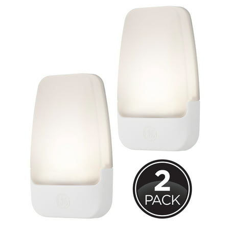 GE Automatic LED Plug-In Night Light, 2-Pack, White Nike Friday Night Lights