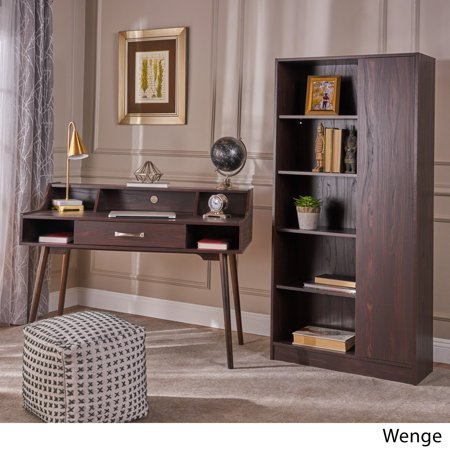 Christopher Knight Home Brenda Mid Century Modern Wood 2-piece Home Office Set by