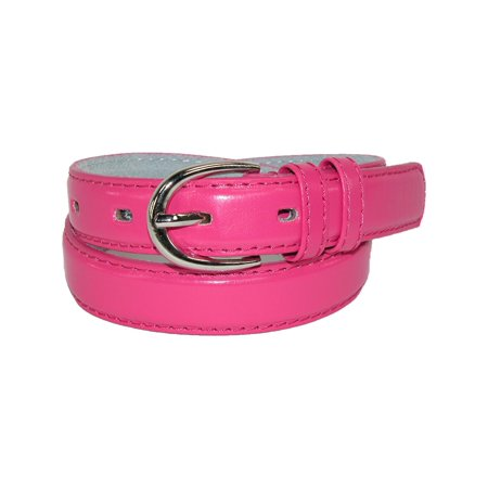 Kid's Leather 1 inch Basic Dress Belt (Pack of