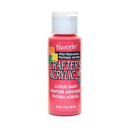 Crafters Acrylic 2 Oz Wild Watermelon Pack Of 12
