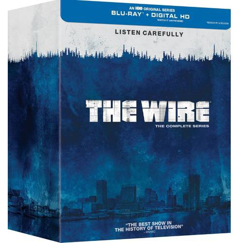 The Wire: The Complete Series (Blu-ray + Digital HD With UltraViolet) (Full Frame)