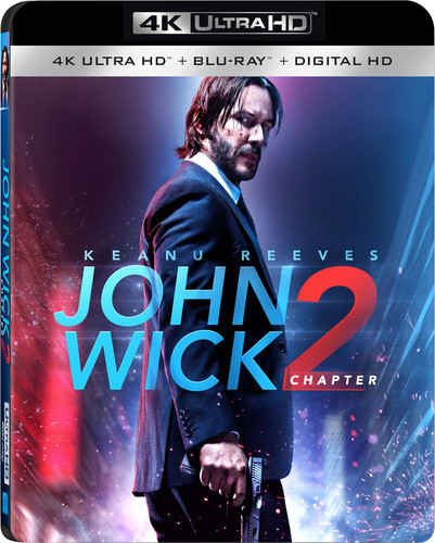 John Wick: Chapter 2 (4K Ultra HD + Blu-ray+ Digital HD)