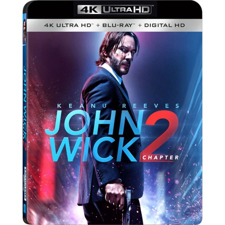 John Wick  Chapter 2  4K Ultra Hd   Blu Ray