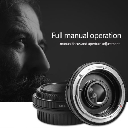 EECOO K&F Concept 1Pc Durable Adapter Ring for Canon FD Lens for