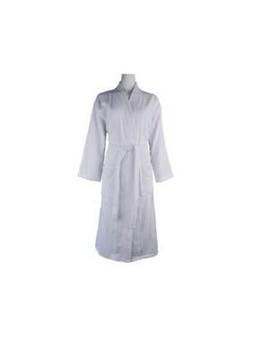 61c5766699c Product Image Lunasidus Luxury 100pct Turkish Cotton Light-Weight Kimono  Terry Bathrobe