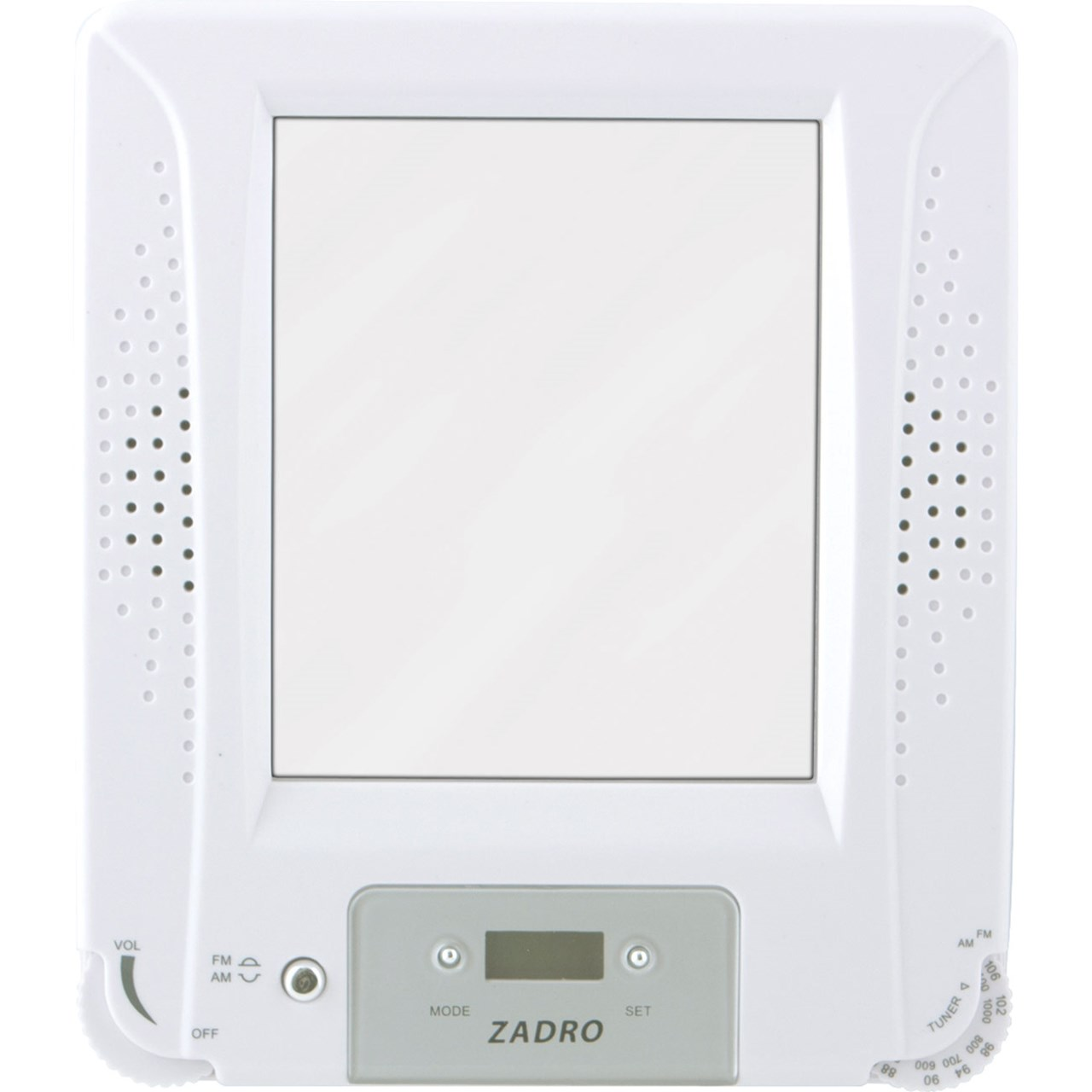 Zadro Z - Fogless Stereo Shower Mirror 1X