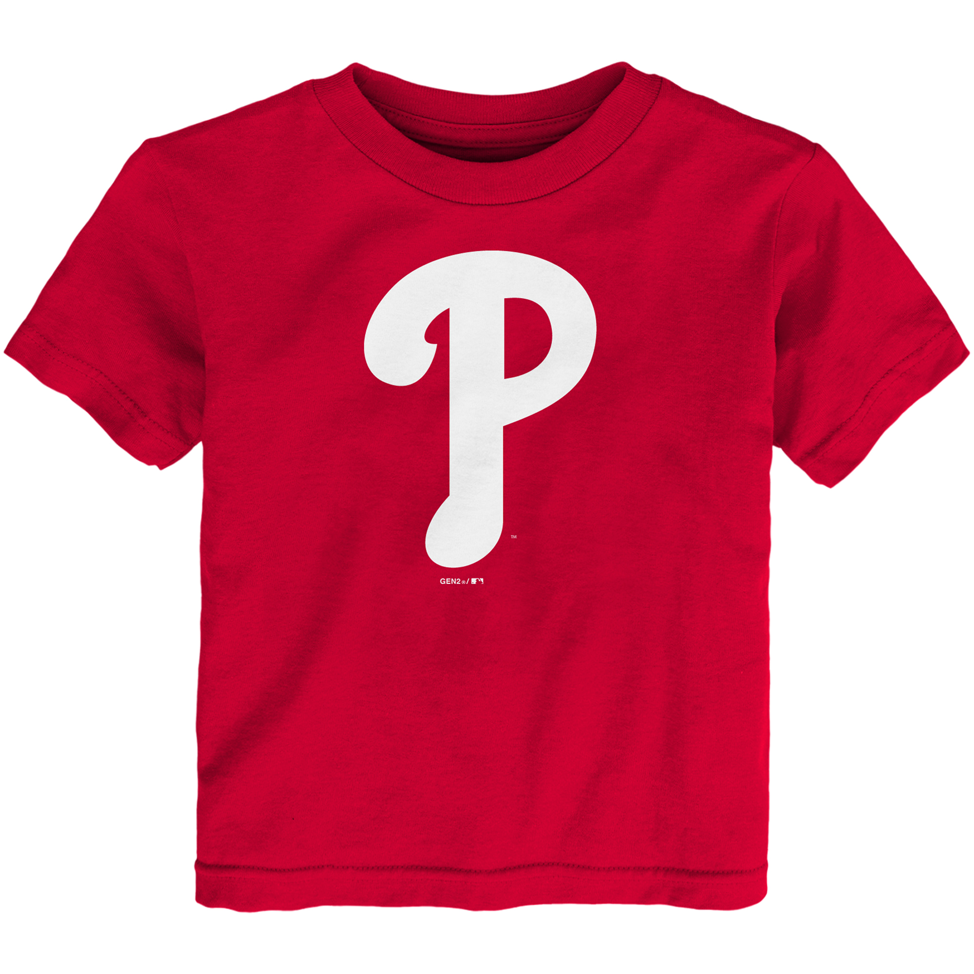 Philadelphia Phillies Toddler Team Primary Logo T-Shirt - Red