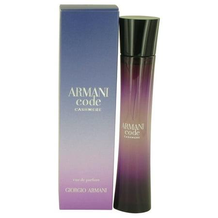 Armani Code Cashmere by Giorgio Armani - Women - Eau De Parfum Spray 2.5