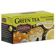 Celestial Seasonings Honey Lemon Ginseng Green Tea Bags, 20ct (Pack of 6)