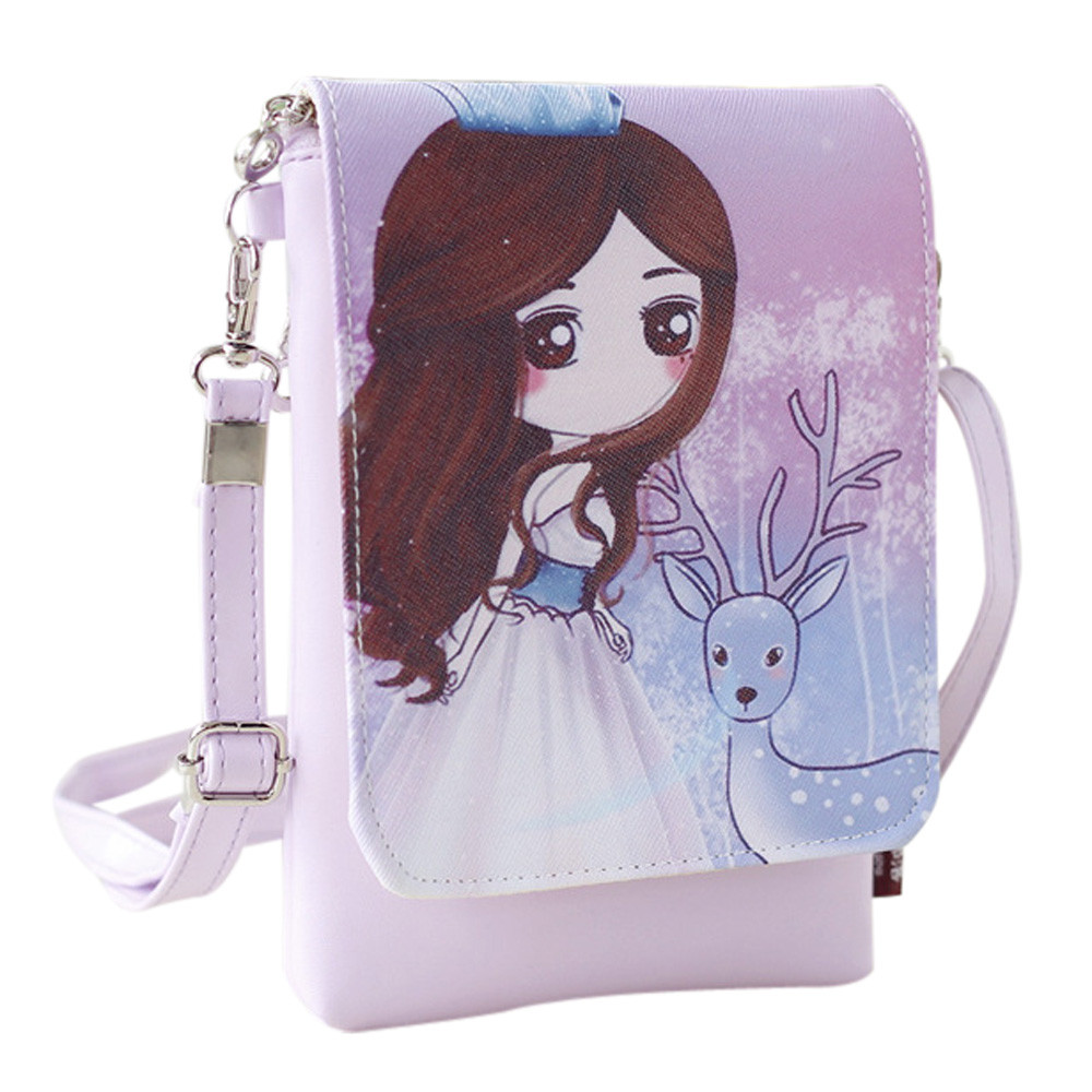 Shoulder Bags Women's Handbags & Cartoon Handbags Kids Girls Mini Crossbody Bag