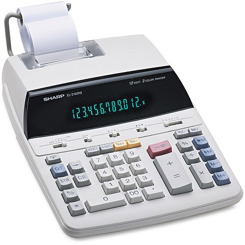 Sharp EL2192RII Desktop Calculator