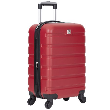 "Protégé 20"" Expandable Spinner Rolling Carry-on - Red"