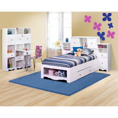Pixel II Bookcase Storage Bed