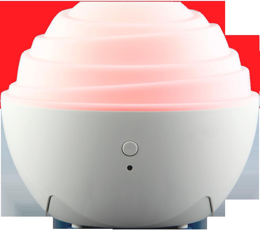 ZAQ Mini II USB Travel Litemist Aromatherapy Essential Oil Diffuser, White TR-3000