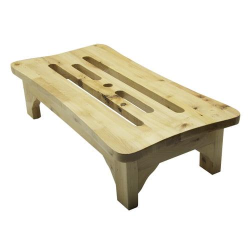 Alfi Brand 1-Step Wood Step Stool by Alfi Brand