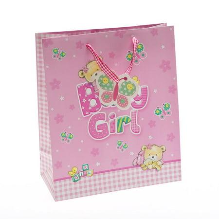 Medium Baby Bear Girl Gift Bag (Girls Gift Bags)