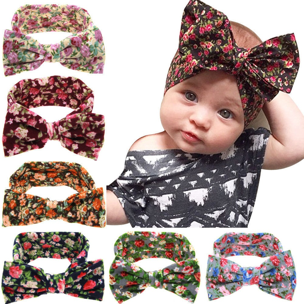 Kids Baby Girl Toddler Flower Headband Hair Band Accessories Headwear Infant